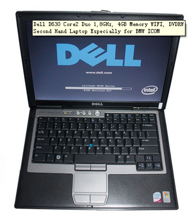 dell d630 for bmw icom