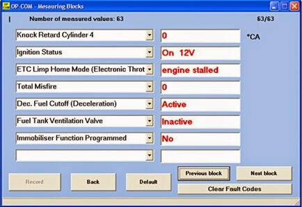 Reset 2002 Astra-G ECM Using OPCOM 2010V 1 59 | EOBDTOOL Blog