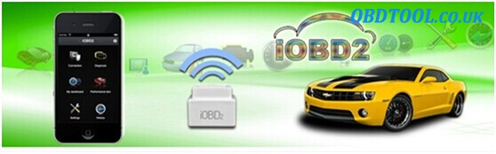 IOBD2 connection via WIFI