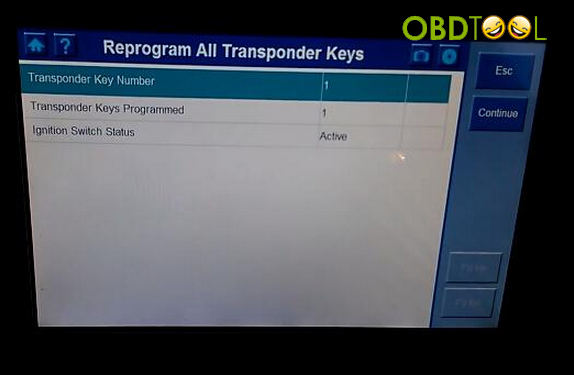 Program all transponder keys 2
