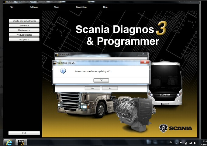 Scania-VCI2-SDP3-error-2