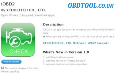 download IOBD2 software