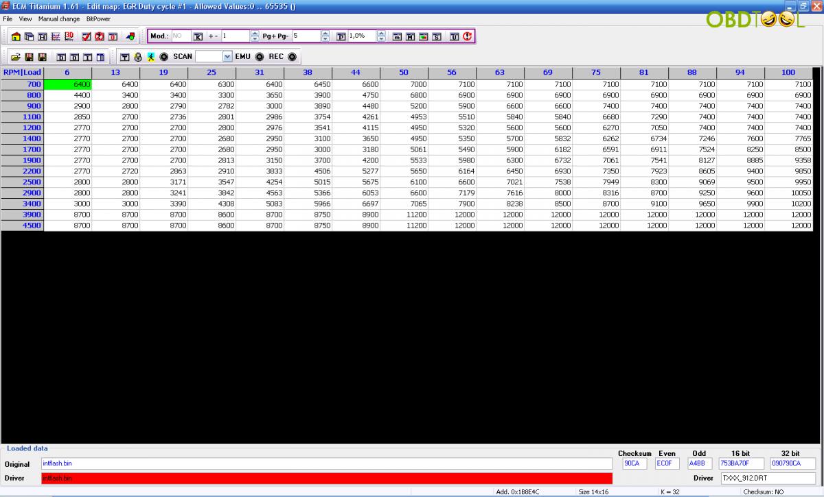 For KTAG And KESS V2 ECM TITANIUM 161 With 18259 Driver 26000