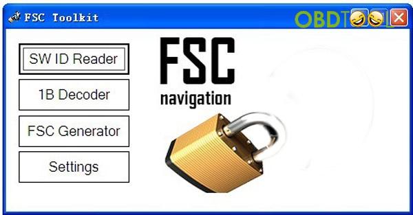 2 ways to get BMW F22 NBT Navigation map FSC code | eobdtool