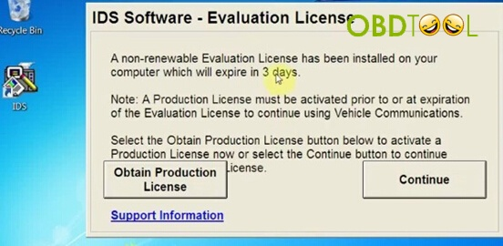 reading a non-renewable Evaluation License-2