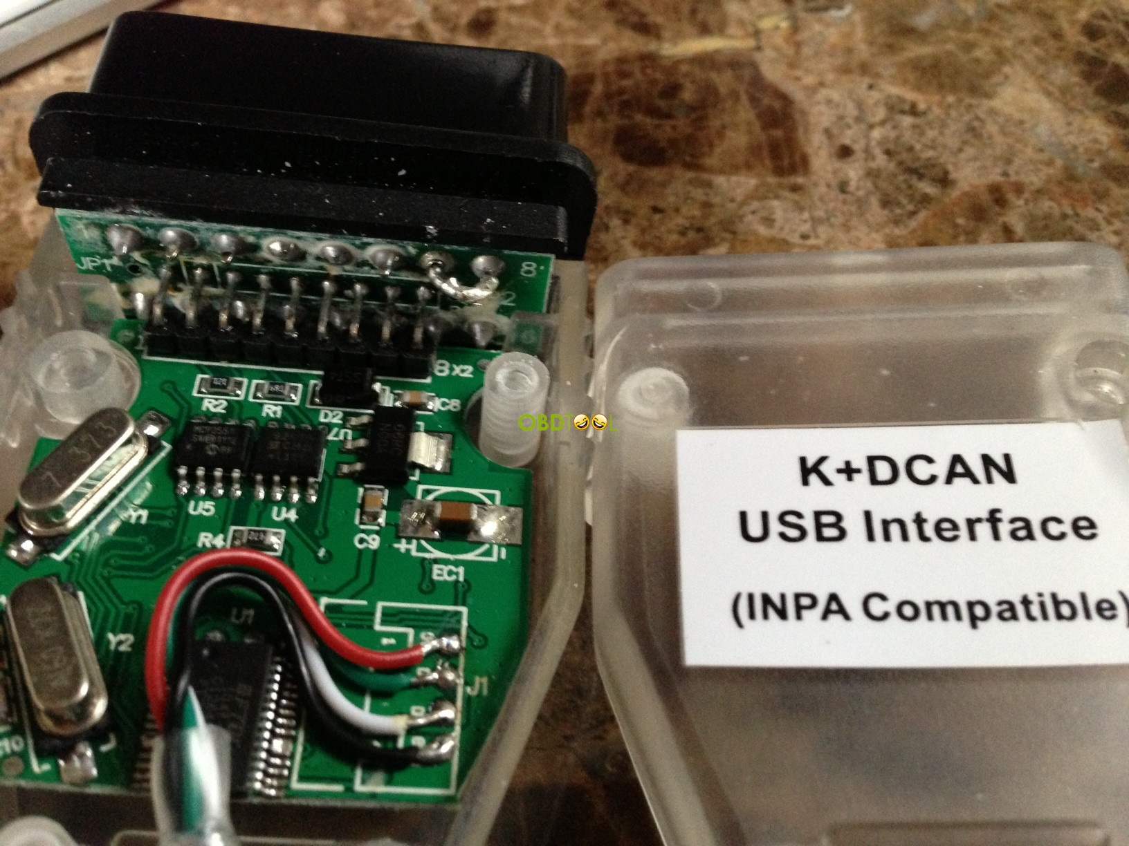 K+DCAN cable-pcb board-1