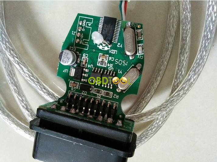 K+DCAN cable-pcb board--1