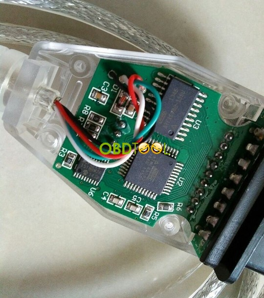 K+DCAN cable-pcb board--2