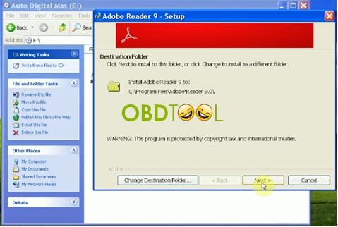 Reader Software of Instruction (Adobe Reader)-3