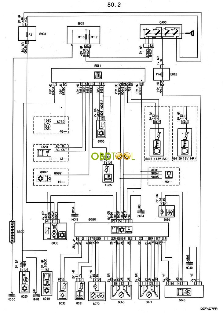 Wiring Diagram For Peugeot 406 : How pp fix the problem that peugeot ac suddenly