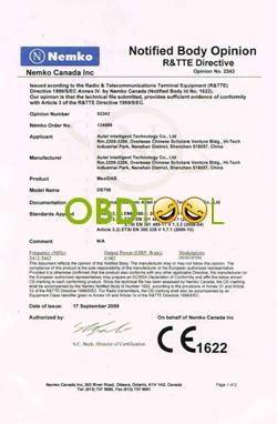 autel-certificate
