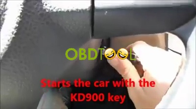 KD900 make key to VW Golf 2012-12