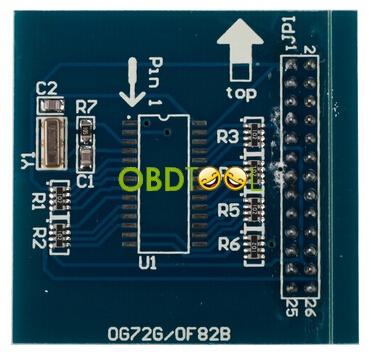 MB AK500+ Key Programmer pc board