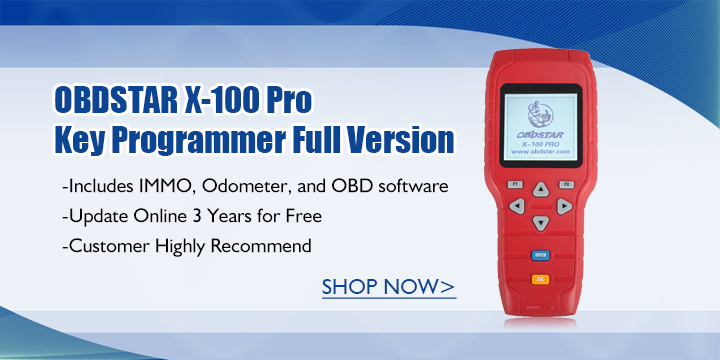 obdstar x 100 pro car key programmer full version