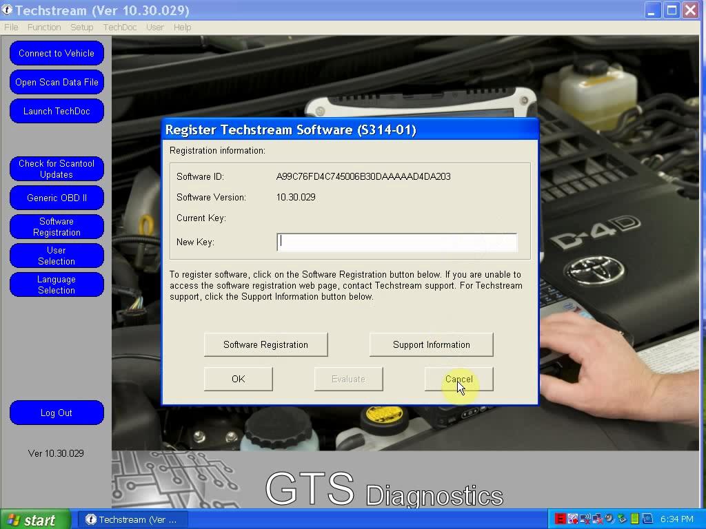 toyota 10.30.029 new key
