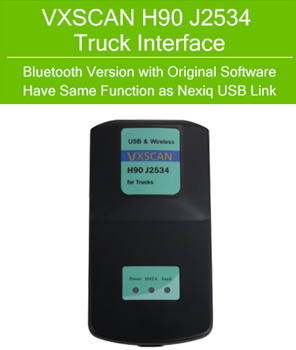 VXSCAN H90 J2534 Diesel Truck Diagnose Interfac