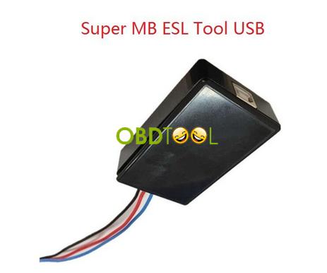 Super MB ESL USB Tool for Benz