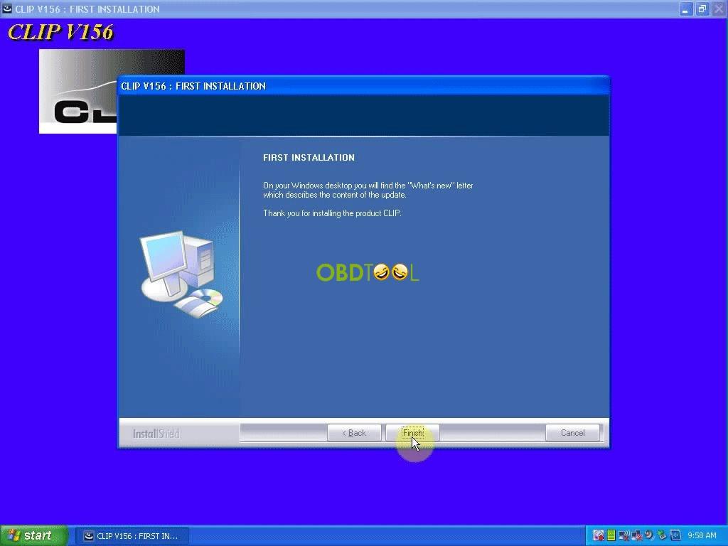 installing CLIP v156