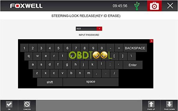 key id erase