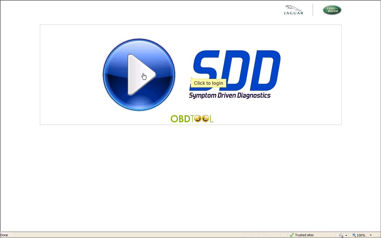 Run JLR SDD