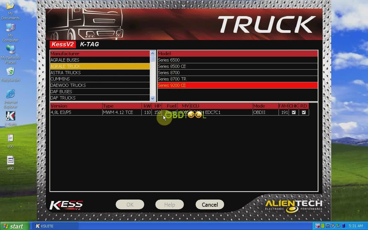 KESS V2 V4.036 truck-20
