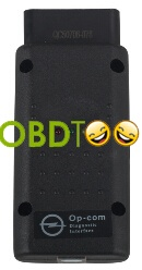 OP-Com 2012 V Can OBD2 Opel Firmware V1.45 with PIC18F458 Chip
