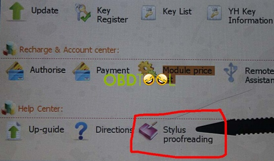 select Stylus Proofreading