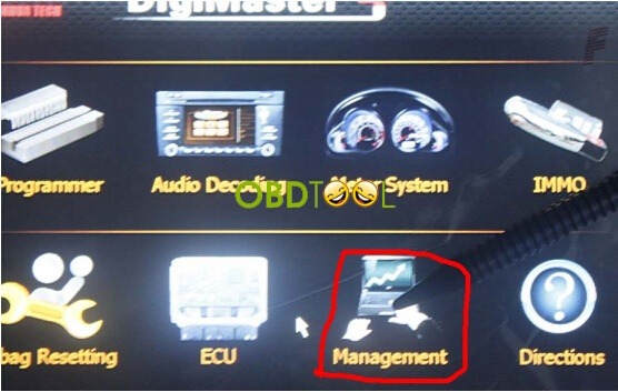 select digimaster iii management