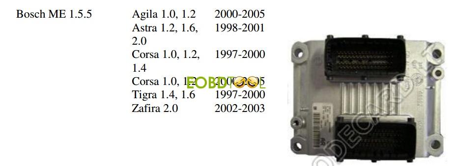 Bosch ME 1.5.5