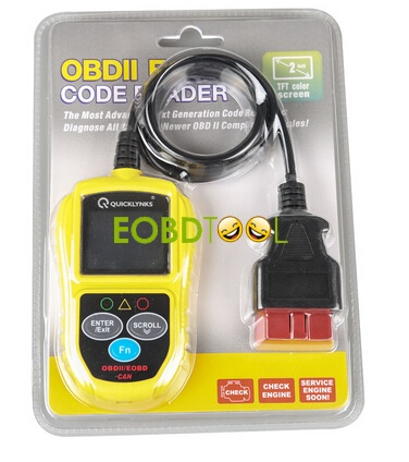 QUICKLYNKS T49 OBDII & CAN Car Code Reader Scanner