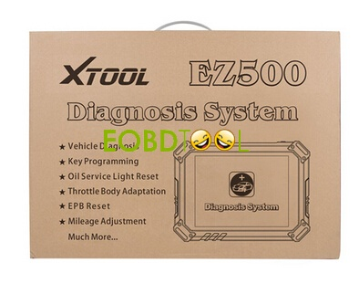 XTOOL EZ500 Full-System Diagnosis for Gasoline Vehicles