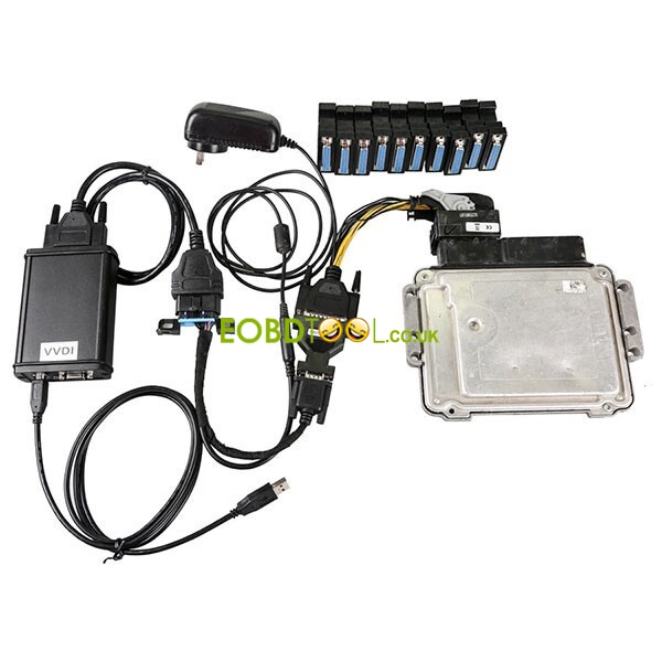 Benz ECU test adapter brush ECU with Kess v2, Ktag, VVDI2, et