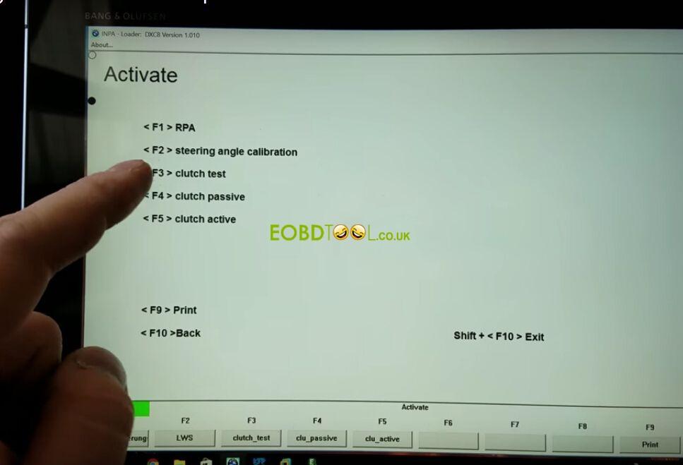 Easy Bmw X5 E53 Steering Angle Calibration By Inpa K Dcan Cable Eobdtool Blog