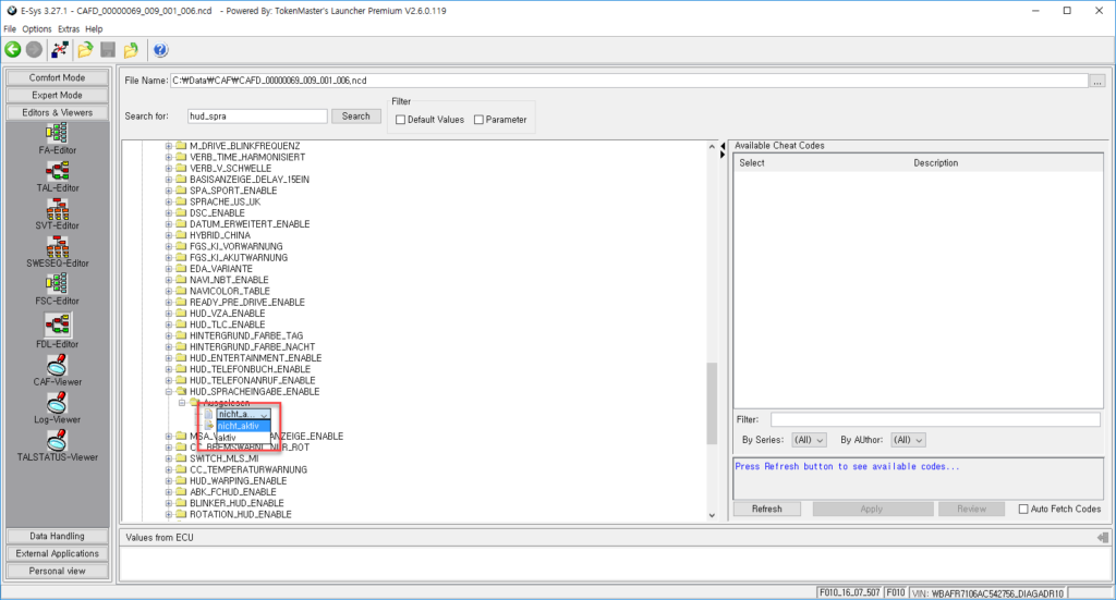 ALLSCANNER VXDIAG A3 same as ICOM for BMW F10 Coding | EOBDTOOL Blog