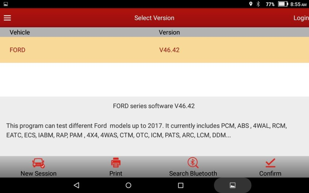 Ford module programming, VCM not works, what about Launch X431 V