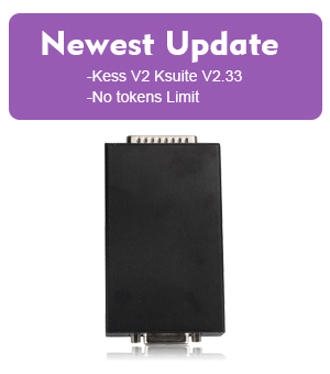 Newest Update V2.33 Kess V2 OBD Tuning Kit Master Version No Token Limitation Firmware V3.099