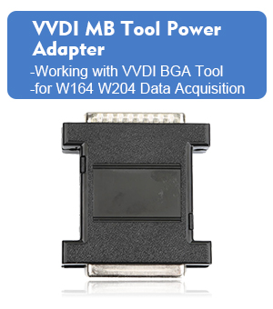 VVDI MB Tool Power Adapter work with VVDI Mercedes for W164 W204 Data Acquisition