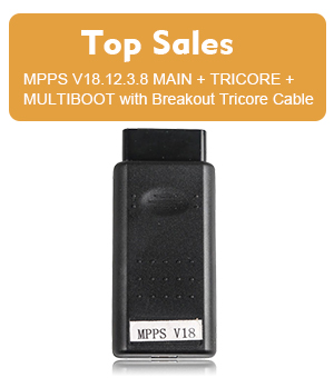 MPPS V18 MAIN + TRICORE + MULTIBOOT with Breakout Tricore Cable