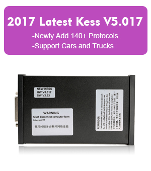 Kess V5.017 OBD2 ECU Programmer Newly Add 140+ Protocols No Tokens Limitation