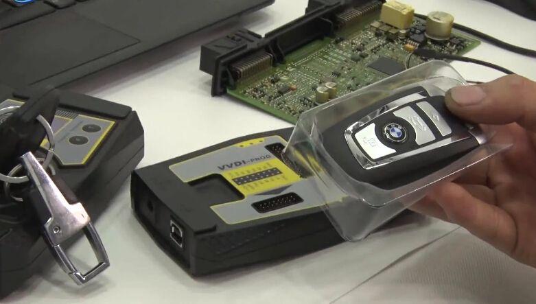 VVDI2 Program BMW CAS4 New Key Successfully No Need To Write Back Eeprom