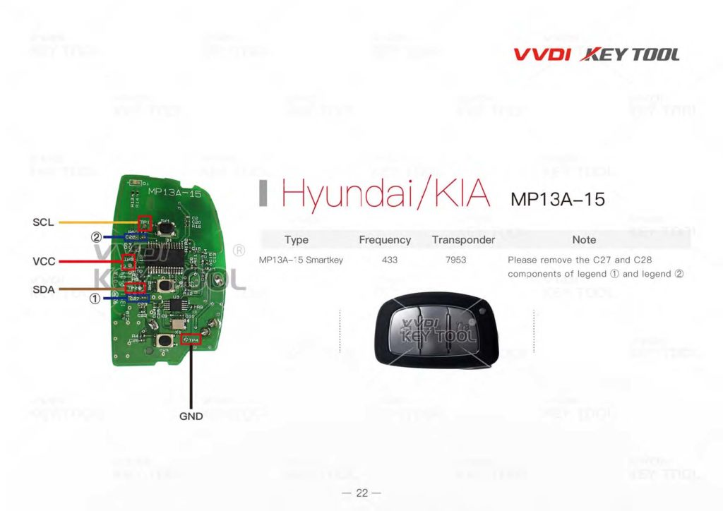 Hot  VVDI KEY Tool Remote Unlock    Wiring       Diagram      EOBDTOOL Blog