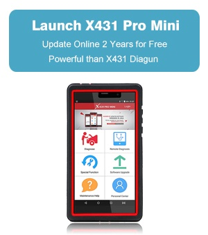 Launch X431 Pro Mini Bluetooth with 2 years free update online powerful than diagun