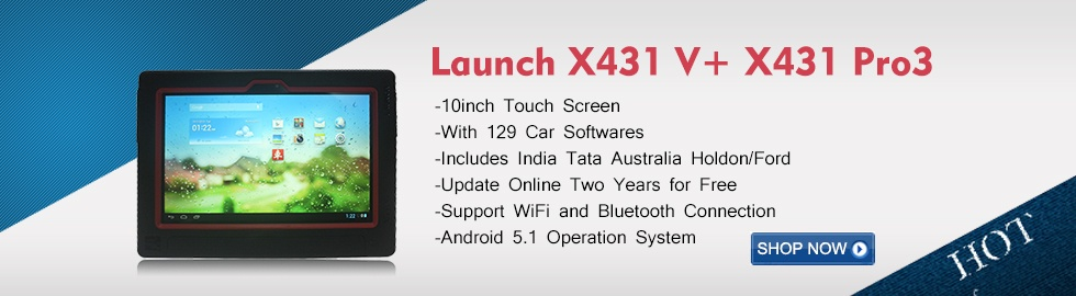 Launch X431 V+ X431 Pro3 Wifi Bluetooth 10inch Tablet Full System Diagnostic Tool