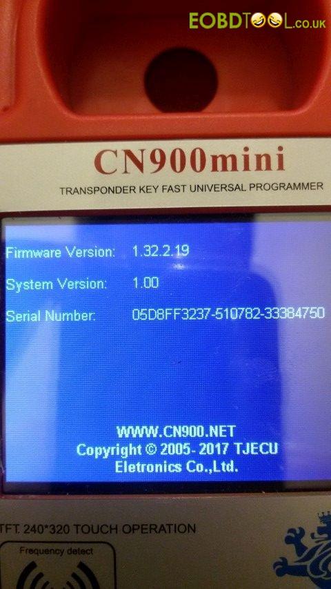 CN900 MINI Version 1.32