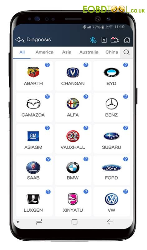 Vpecker E4 App Android Version Phone Diagnostic Tools Iphone Obd2