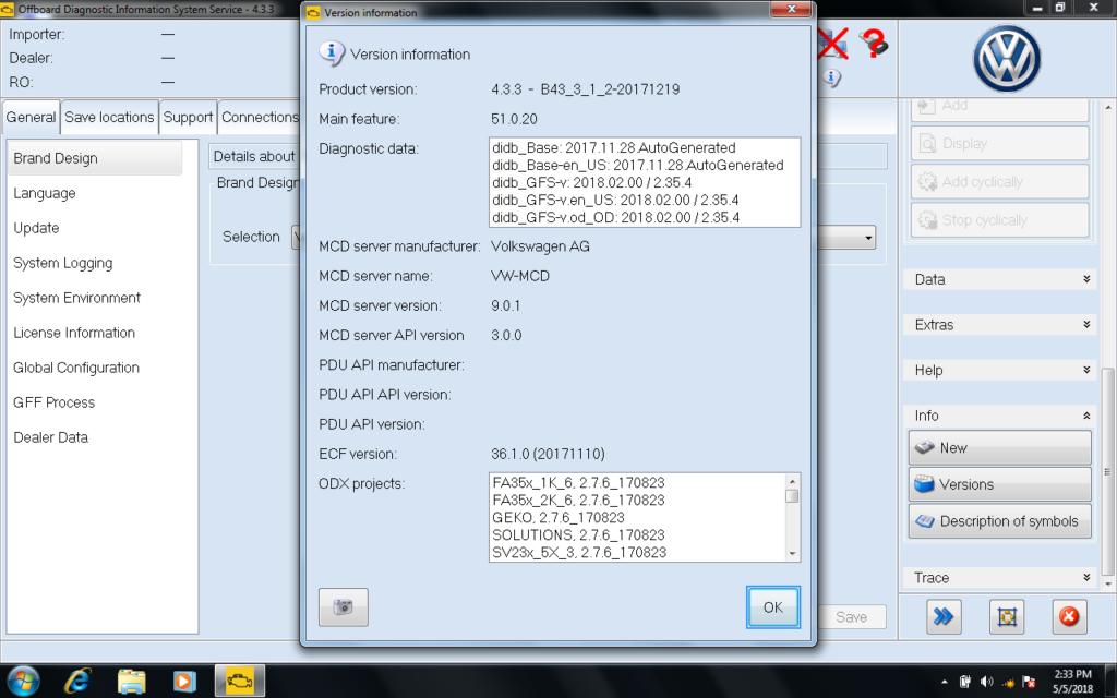 odis 4.2.3 activator