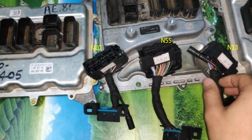 CGDI prog BMW read N13, N20 and N55 ISN without unsoldering: All OK