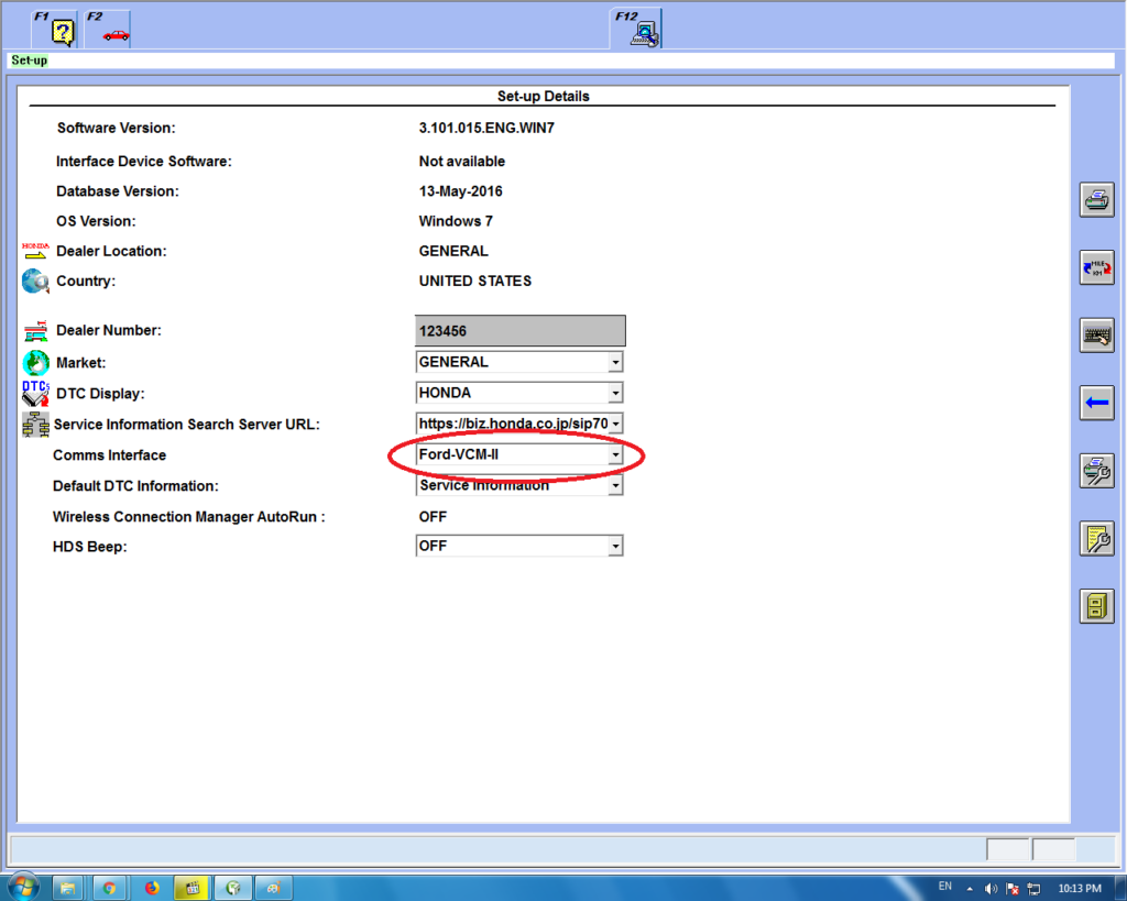 How to Connect VCM 2 to Honda HDS software   eobdtool co uk