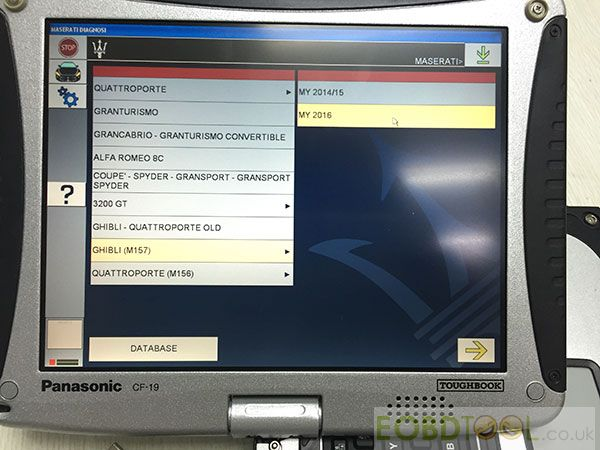 Maserati Mdvci Diagnostic Tester Introduction  Software  Language  Car List