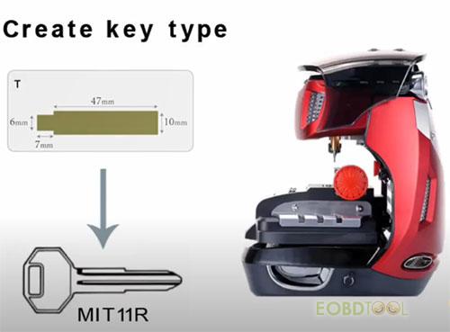 2m2 creat key type